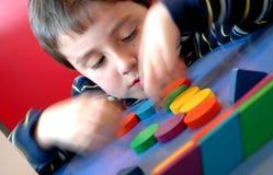 геометрическая игра Стоковая Фотография RF