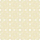Геометрическая картина арабескы иллюстрация штока