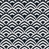геометрическая картина безшовная Геометрическая простая печать Вектор повторяя текстуру Стоковое Изображение RF