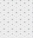 геометрическая картина безшовная Геометрическая простая печать Вектор повторяя текстуру Стоковые Изображения RF