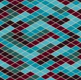 геометрическая картина безшовная Мозаика вектора Элементы аранжированы на светлой предпосылке бесплатная иллюстрация