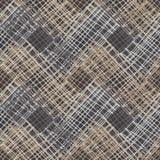 геометрическая картина безшовная Пол Брайна с деревянной текстурой азиатская циновка иллюстрация вектора