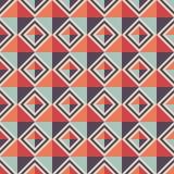 геометрическая картина безшовная Предпосылка косоугольника Стоковая Фотография