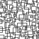 геометрическая картина безшовная Геометрическая простая печать Вектор повторяя текстуру бесплатная иллюстрация