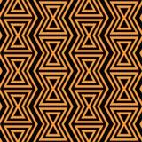 геометрическая картина безшовная Простая регулярн предпосылка Ультрамодный стиль битника с американскими индийскими мотивами bab бесплатная иллюстрация