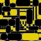 геометрическая картина безшовная также вектор иллюстрации притяжки corel Стоковые Фото