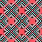 геометрическая картина безшовная Стоковое Изображение
