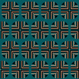геометрическая картина безшовная Стоковое Фото
