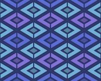 геометрическая картина безшовная Стоковая Фотография RF