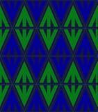 геометрическая картина безшовная Стоковые Изображения