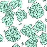 геометрическая картина безшовная Стоковые Фото