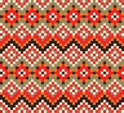 геометрическая картина безшовный вектор текстуры Стоковое Изображение RF