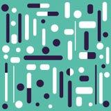 геометрическая картина Безшовный шаблон Стоковое Изображение RF