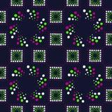 Геометрическая картина вектора Стоковые Изображения