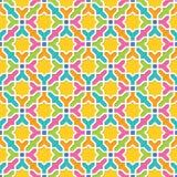 Геометрическая картина в аравийском стиле иллюстрация штока