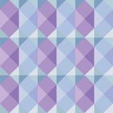 Геометрическая картина в мягких цветах Стоковые Фото