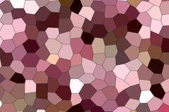Геометрическая картина в нейтральных пастельных цветах Стоковое фото RF
