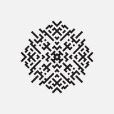 Геометрическая картина, геометрический элемент вектора Стоковая Фотография