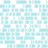 Геометрическая картина, голубые цвета Стоковая Фотография