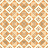 Геометрическая картина - квадраты Стоковая Фотография
