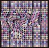 Геометрическая картина, комплект квадрата, плитки цвета Стоковое фото RF