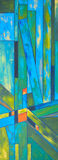 Геометрическая картина конспекта состава Стоковое Изображение