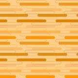 Геометрическая картина оранжевых овалов Стоковые Фотографии RF