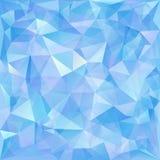 Геометрическая картина, предпосылка треугольников. Стоковые Изображения