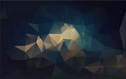 Геометрическая картина, предпосылка треугольников Стоковое Фото