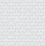 Геометрическая картина с предпосылкой Grunge, обоями света - серыми и белыми иллюстрация вектора