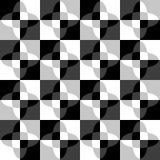 Геометрическая картина с пульсацией, волнистым искажением, влиянием искривления гнойничка Стоковое Изображение RF