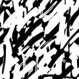 Геометрическая картина с случайными пересекая линиями Хаотическая грубая текстура Стиль улицы Городская иллюстрация искусства бесплатная иллюстрация