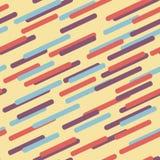 геометрическая картина Холодные красочные предпосылки Безшовный шаблон Стоковые Фотографии RF