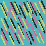 геометрическая картина Холодные красочные предпосылки Стоковые Изображения