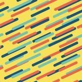 геометрическая картина Холодные красочные предпосылки Стоковая Фотография
