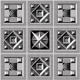 Геометрическая картина 21 Стоковая Фотография