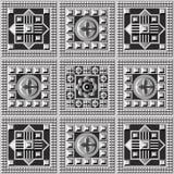 Геометрическая картина 25 Стоковые Фотографии RF