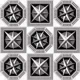 Геометрическая картина 43 Стоковые Изображения RF