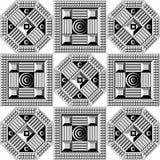 Геометрическая картина 44 Стоковое Фото