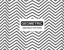 Геометрическая картина Absract на белой предпосылке Стоковая Фотография