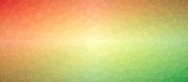 Геометрическая красная зеленая триангулярная предпосылка текстуры бесплатная иллюстрация