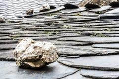 Геометрическая крыша Стоковые Фото