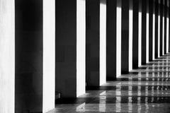 Геометрическая линия концепция Городское здание геометрии стоковые изображения