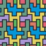 Геометрическая линия формы абстрактная конструкция предпосылки Стоковое Изображение RF