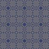 Геометрическая перекрестная кельтская безшовная картина Стоковые Фотографии RF