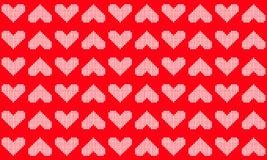 Геометрическая предпосылка картины сердца вектора иллюстрация штока