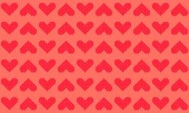 Геометрическая предпосылка картины сердца вектора бесплатная иллюстрация