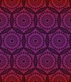Геометрическая предпосылка мандалы безшовная Стоковые Фото