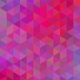 Геометрическая предпосылка с треугольниками Стоковое Изображение