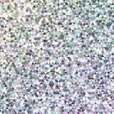 Геометрическая регулярн предпосылка мозаики треугольника - дизайн векторной графики полигона градиента от света покрасил треуголь Стоковые Фото
